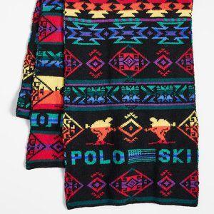 Polo Ralph Lauren Wool Blend Beacon Skier Scarf